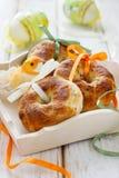 De broodjes van de ui en van de orego Royalty-vrije Stock Foto's