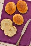 De Broodjes van het bad Royalty-vrije Stock Foto's
