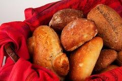 De Broodjes van het diner (hoogste mening) Royalty-vrije Stock Foto