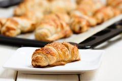 De broodjes van het kaneelgebakje royalty-vrije stock foto