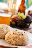 De broodjes van het ontbijt royalty-vrije stock afbeeldingen