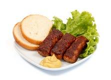 De broodjes van het vlees Royalty-vrije Stock Foto
