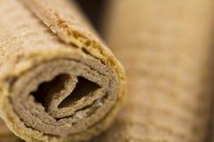 De Broodjes van het wafeltje stock fotografie