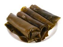 De broodjes van het zeewier Stock Foto's