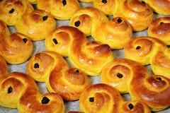 De broodjes van Lucia Royalty-vrije Stock Foto's