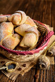 De broodjes van papaverzaden Royalty-vrije Stock Foto's
