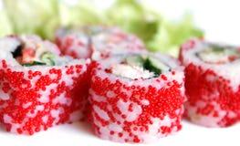 De broodjes van sushi Stock Afbeeldingen