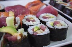 De Broodjes van sushi Royalty-vrije Stock Afbeeldingen