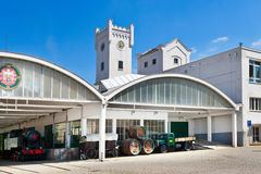 De Brouwerij van pilsener Urquell van 1839, Pilsen, Tsjechische republiek Royalty-vrije Stock Afbeeldingen