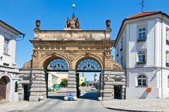 De Brouwerij van pilsener Urquell van 1839, Pilsen, Tsjechische republiek Stock Afbeeldingen