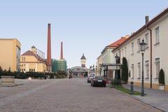 De brouwerij van Plzen royalty-vrije stock fotografie
