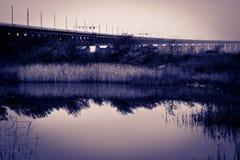 De brug stock afbeeldingen