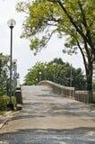 De brug aan Park Chatuchak met Portret Stock Foto