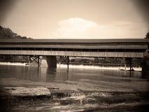 De brug beëindigt nooit Royalty-vrije Stock Fotografie