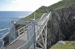 De brug bij mizen hoofd, Ierland Stock Afbeelding