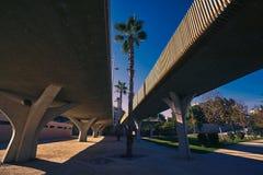 De brug DE Madera van Valencia Pont DE fusta Stock Afbeelding