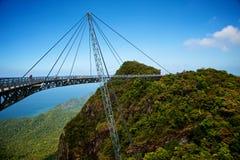 De brug is een het bekijken platform Royalty-vrije Stock Afbeeldingen