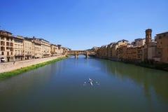 De Brug Florence van Vecchio van Ponte Royalty-vrije Stock Foto