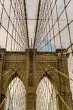 De brug New York van Brooklyn Royalty-vrije Stock Fotografie