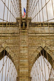 De brug New York van Brooklyn Royalty-vrije Stock Foto's