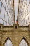 De brug New York van Brooklyn Stock Afbeeldingen