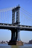 De brug NYC van Manhattan Royalty-vrije Stock Afbeeldingen