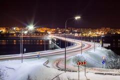 De brug over de Baai Royalty-vrije Stock Afbeeldingen
