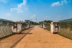 Phra die Nong Bua. Stock Foto's