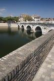 De brug Tiberius stock afbeeldingen