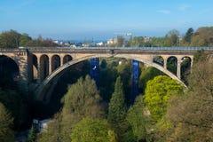 De brug van Adolphe Stock Fotografie