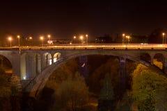 De brug van Adolphe van Pont Stock Afbeelding