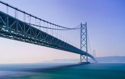 De brug van Akashikaikyo, Kobe, Japan royalty-vrije stock fotografie