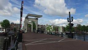 De Brug van Amsterdam stock videobeelden