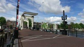 De Brug van Amsterdam stock video