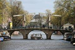 De Brug van Amsterdam stock foto's
