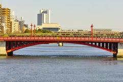 De brug van Asakusa Stock Afbeelding
