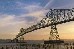 De brug van Astoria Stock Afbeeldingen