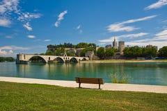 De Brug van Avignon Stock Foto