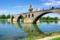 De Brug van Avignon stock afbeelding