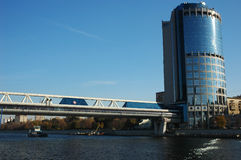 De brug van Bagration Stock Afbeelding