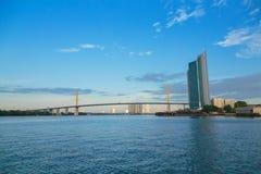 De brug van Bangkok Royalty-vrije Stock Foto