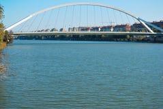 De brug van Barqueta Royalty-vrije Stock Foto