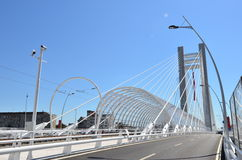 De brug van Basarab, Boekarest, Roemenië royalty-vrije stock fotografie