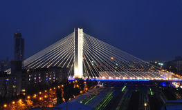 De brug van Basarab, Boekarest, Roemenië Stock Fotografie