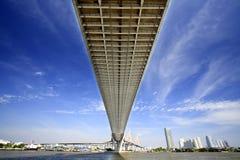 De brug van Bhumibol Stock Afbeelding