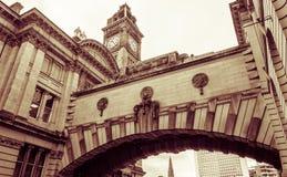 De Brug van Birmingham van Sighs met Torenklok stock afbeeldingen