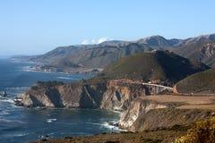 De Brug van Bixby - Groot Sur - Californië Stock Foto