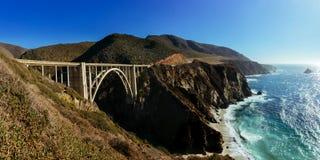 De Brug van Bixby - Groot Sur - Californië Royalty-vrije Stock Fotografie