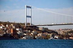 De Brug van Bosphorus Royalty-vrije Stock Foto's