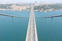De Brug van Bosphorus stock foto
